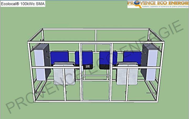 Panneau solaire et remplacement d 39 onduleur vaucluse 84 for Local technique prefabrique