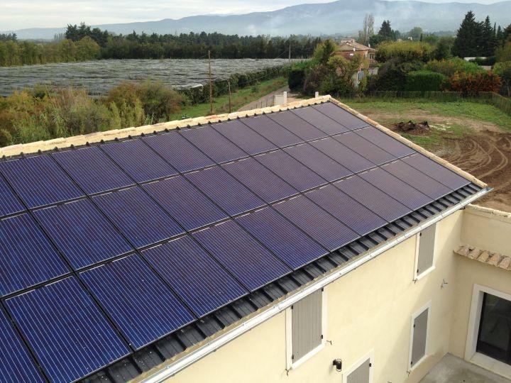 Entreprise pour pose de panneaux solaires photovolta ques for Pose de panneaux solaires sur toiture