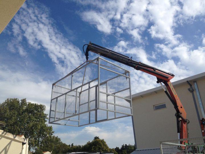 Installateur de centrale solaire photovolta que bouches du for Local technique prefabrique