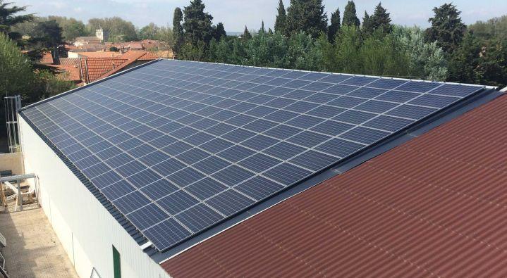 Entreprise pour supervision de centrale photovolta que for Orientation batiment
